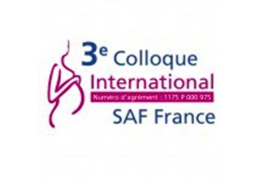 3ème colloque international SAF FRANCE