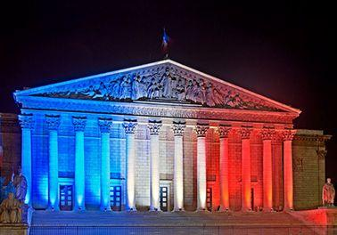 ASSEMBLEE NATIONALE COULEURS